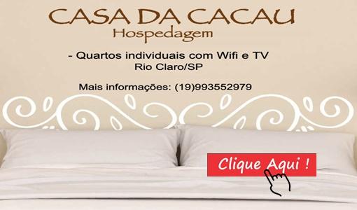 Hospedagem Rio Claro – Cacau